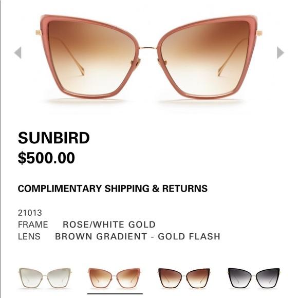 8b5e454fbd89 Sita rose gold sunbird sunglasses! Brand new ❤ . NWT. DITA
